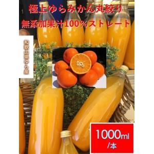 ゆらみかんジュース  果汁100% 和歌山県由良産【1000ml×6本 セット】【送料無料】