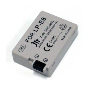 ☆日本トラストテクノロジー デジタルカメラ 互換バッテリー Canon対応 MBH-LP-E8|cnf3