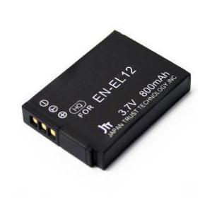☆日本トラストテクノロジー デジタルカメラ 互換バッテリー Nikon対応 MBH-EN-EL12|cnf3
