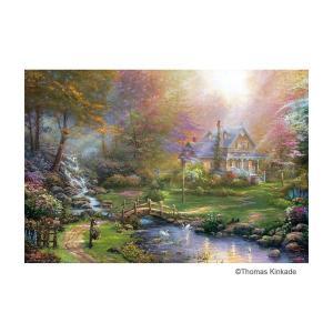 光を描く画家として有名な「トーマス・キンケード」のアートをジグソーパズルにしました。 製造国:日本 ...