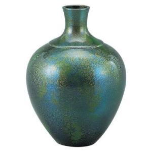 伝統工芸師が作る重厚感あるブロンズ製花瓶。玄関・居間・和室などを華やかに演出してくれます。 生産国:...