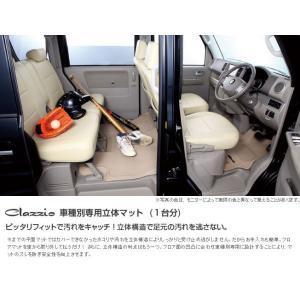 Clazzio クラッツィオ 車種別専用立体フロアマット  1台分 ラバータイプ ホンダ フィット ハイブリッド EH-2000 cnf