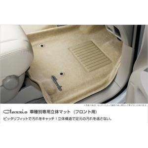 Clazzio クラッツィオ 車種別専用立体フロアマット フロント用 ラバータイプ 車種:ホンダ ステップワゴン 定員:7/8 人 年式(平成):H27/5〜 cnf