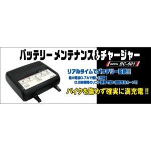 MITSUBASANKOWA(ミツバサンコーワ) バイク用バッテリーメンテナンスチャージャー BC-001 cnf