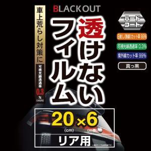 【ウインドーフィルム】 YAC(ヤック) 透けない真っ黒フィルム 200×6m [DF-406] cnf