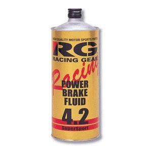 RG パワーブレーキフルード4.2 1L DOT4 RGP-4210|cnf