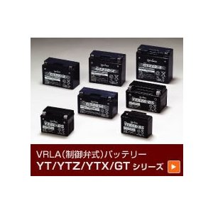 GS YUASA ジーエスユアサ 2輪(バイク)用バッテリー YTZ14S(液入り充電済/正規品) cnf