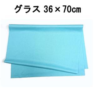 マイクロファイバー システムクロス グラス(ブルー) 36cm×70cm 超極細繊維 クロス ふきん  グラス拭き 食器拭き  布巾 ガラス 鏡 速乾|cntr