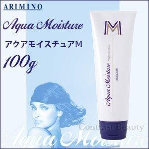 「x3個セット」 アリミノ アクアモイスチュア M 100g 洗い流さないトリートメント サロン専売|co-beauty