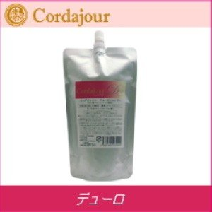 [x2個セット] コルダジュール デューロ シャンプー 400ml 硬い髪用 詰め替え|co-beauty