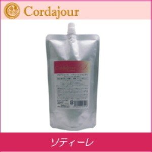 [x4個セット] クレアール コルダジュール ソティーレ シャンプー 400ml 柔らかい髪用 詰め替え|co-beauty