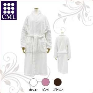 CML CKL ホイップタッチ バスローブ ホワイト|co-beauty
