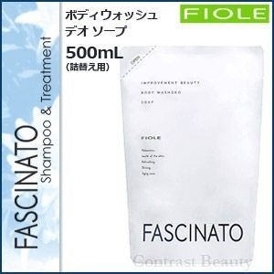 「x5個セット」 フィヨーレ ファシナート ボディソープ 500ml 詰替え用 フィオーレ|co-beauty