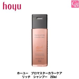 ホーユー プロマスター カラーケア リッチ シャンプー 250ml co-beauty