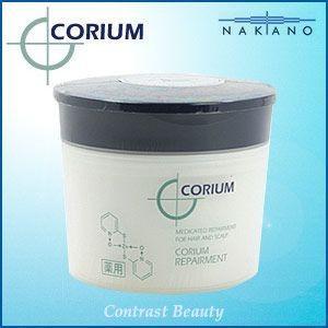 【x2個セット】 ナカノ 薬用 コリューム リペアメント 250g 医薬部外品|co-beauty