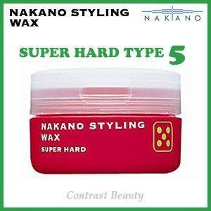 【x5個セット】 ナカノ スタイリング ワックス 5 スーパーハード 90g ≪ナカノスタイリングワックス2002≫|co-beauty
