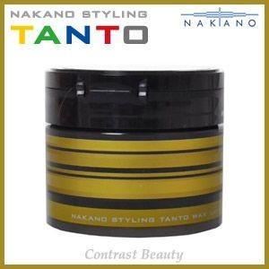 「x3個セット」 ナカノ スタイリング タント ワックス 7 ラスティング&シャイニー 90g ≪ナカノタント≫|co-beauty