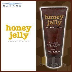 「x2個セット」 ナカノ スタイリング ハニージェリー ハード 90ml ≪ナカノハニージェリー≫|co-beauty