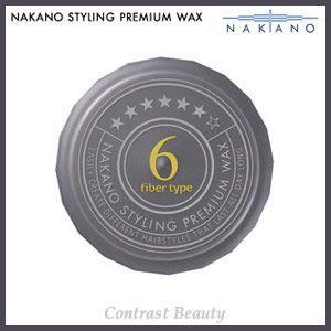 ナカノ スタイリング プレミアム ワックス 6(ファイバータイプ) ウルトラスーパーハード 60g|co-beauty