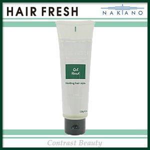 ナカノ ヘアフレッシュ ジェル ハード 120g ≪ヘアフレッシュ≫|co-beauty