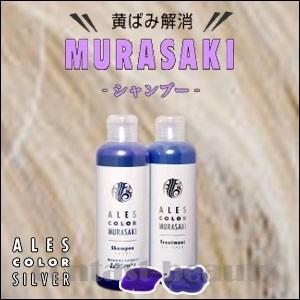 美容雑貨3 ヘアケア アレスカラー ムラサキシャンプー 200ml|co-beauty