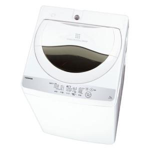 【設置料無料】 東芝 全自動洗濯機 5kg 風乾燥機能付 1.3kg  AW-5G6 AW-5G6 ...