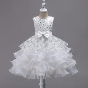お姫様 プリンセスドレス 子供ドレス [ドレス 子ども] チュール ドレス 女の子用ドレス 110~...