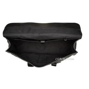 コーチCOACH 58097 メトロポリタン ポートフォリオ リファインド ペブル レザー ブラック|coachavenue|05