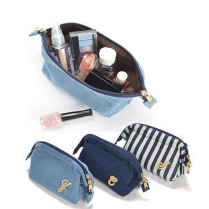 コスメポーチ 小物入れ 化粧ポーチ レディース レディス イニシャル インナーバッグ バービー コラボ|cobalt-shop