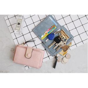 カード収納ポケット レディース キーケース  ミニ財布 多機能 スマートキー 小銭入れ コインケース 札入れ 6colors|cobalt-shop