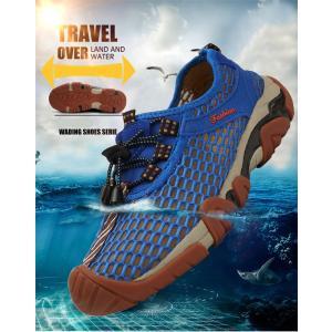 登山靴 メンズ トレッキングシューズ ランニングスニーカー スリッポン シャワーサンダル  軽量 通気  アウトドア 釣り|cobalt-shop