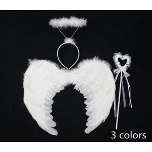 羽 エンジェル 天使 悪魔 翼 コスプレ コスチューム 仮装 衣装 パーティー ハロウィン ハローウィン クリスマス cobalt-shop