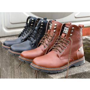 牛革 バイクブーツ メンズ 本革 ブーツ メンズ ブーツ ミリタリーブーツ エンジニア ワークブーツ ツーリングシューズ ライディングブーツ|cobalt-shop