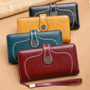 財布 レディース 長財布 二つ折り さいふ レディース財布 レザー カードケース 大容量 ロングウォレット 小銭入れ サイフ プレゼント|cobalt-shop