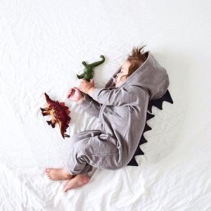 ロンパース ベビー服 おしゃれ 男の子 80  90  100 長袖 かわいい コスチューム 着ぐるみ コスプレ 怪獣 恐竜 記念写真 お祝い かわいい ハロウィン cobalt-shop