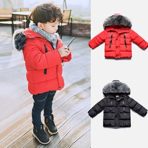 ベビー服 子供服 ダウンコート 赤ちゃん コート 中綿ジャケット 防寒 保温 アウターウエア 女の子 男の子 フード付き可愛い  cobalt-shop