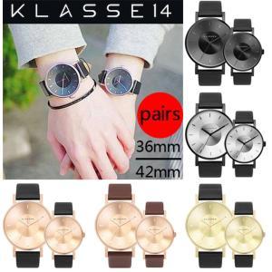 【KLASSE14(クラスフォーティーン)とは】 イタリア発の腕時計ブランドです。 デザイナーとのコ...