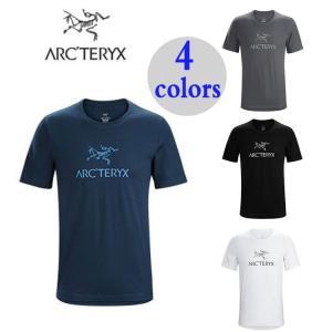 在庫処分!男性用 Tシャツ アークテリクス ARC'TERYX ARC'WORD SS T-SHIRT アークワード Tシャツ メンズ クルーネック 22447 |cobalt-shop