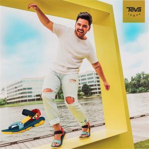 TEVA テバ サンダルOutdoor Voicesスポーツサンダル メンズ 靴 テバ風 アウトドア おしゃれ アウトドア ポイント消化|cobalt-shop