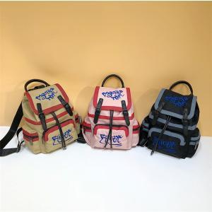リュック リュックサック レディース  おしゃれ 刺繍 シンプル 通学 通勤 大容量 ナイロン 送料無料 cobalt-shop