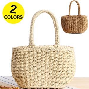 かごバッグ トートバッグ 手提げ 夏バッグ 海辺遊び レディース麦わらバッグ 軽量 かわいい オシャレ|cobalt-shop