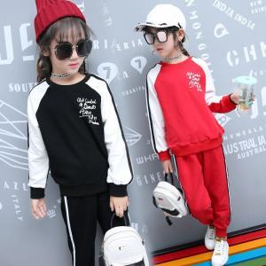 子供服 セットアップ ヒップホップ スポーツ ダンス衣装 ダンスウェア  スウェット 上下セット 女の子 スポーツウェア cobalt-shop