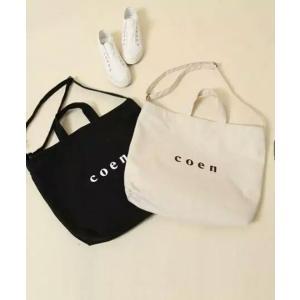 COEN 3WAYバッグ レディース ロゴバッグ トートバッグ  ショルダーバッグ ハンドバッグ 通勤 大きめサイズ|cobalt-shop