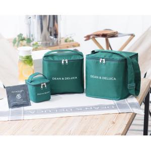 DEAN&DELUCA ディーン&デルーカ 保冷バッグ 素材:綿、ポリエステル サイズ: L...