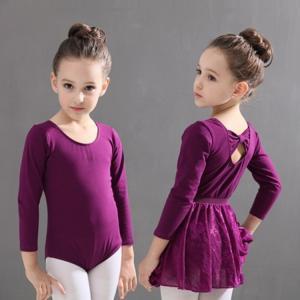2点セット バレエレオタード バレエ形体服 可愛さ満載 レオタード バレエダンス 連体ダンス服 キッズ ジュニア 練習着 cobalt-shop