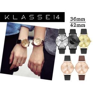 KLASSE14 クラス14 MARIO NOBILE VOLARE 42mm 36mm LEATHER BELT 腕時計 メンズ レディース  レザーベルト