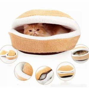どらやき 型 ペット ベッド マカロン ねこ ペットベッド ハウス あったか 休憩所 猫 にゃんこ クッション 犬 いぬ 小型犬