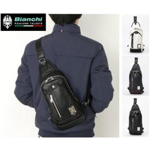 Bianchi ビアンキボディバッグ 斜め掛けバッグ ワンショルダーバッグ メンズ レディース 男女兼用 cobalt-shop