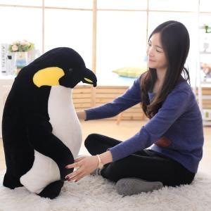ペンギン ぬいぐるみ 抱き枕 テディベア 動物 コウテイペンギン 抱きまくら ふわふわ インテリア プレゼント ホワイトデー クリスマス イベント お祝い 高80cm cobalt-shop