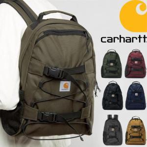 カーハート リュックサック デイパック CARHARTT WIP Kickflip Backpack 防水加工 ハミルトンブラウン  父の日|cobalt-shop